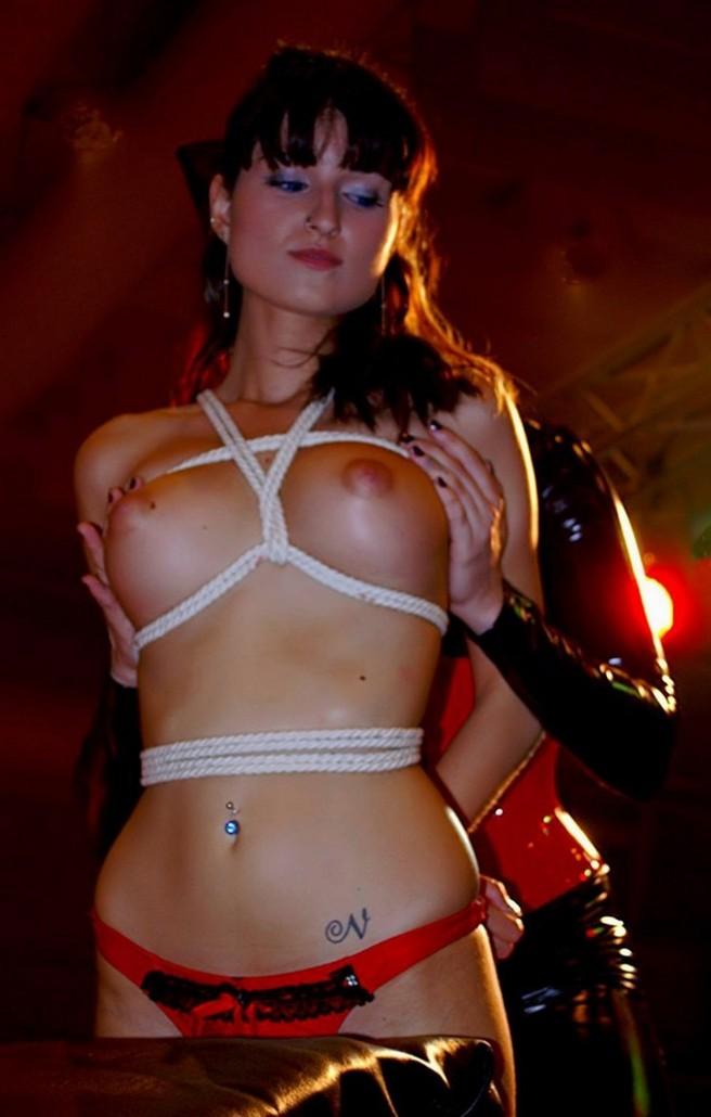 Talented Bondage torture bra nails stories