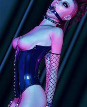bdsm hogtied spanking