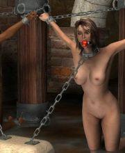bondage story breast free